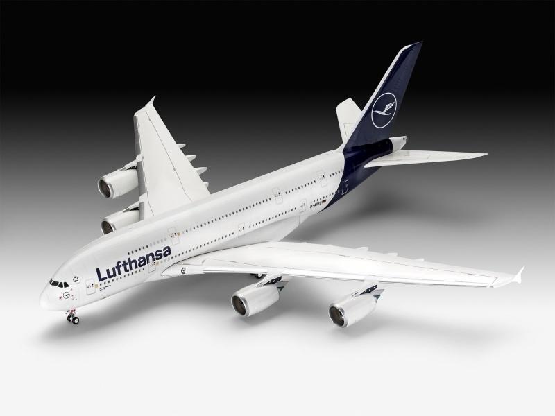 Airbus A380-800 Lufthansa New Livery 1:144 Modellbausatz