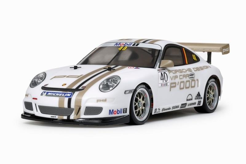 Porsche 911 GT3 Cup VIP 08 4WD Onroad 1/10 TT-01E Bausatz
