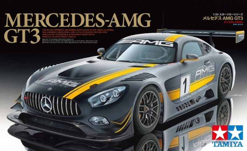 Mercedes AMG GT3 Plastikmodellbausatz 1:24