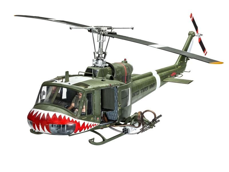 Bell UH-1 Huey 1:24