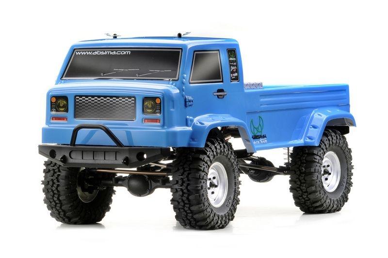 CR2.4 Crawler, petrol-blau, 1:10 4WD EP RTR 280mm Radstand