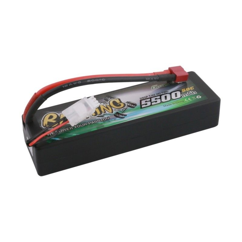 Gens ace Bashing LiPo Akku 5500mAh 7,4V 2S 50C HC Deans B-50C55002S1PHC24