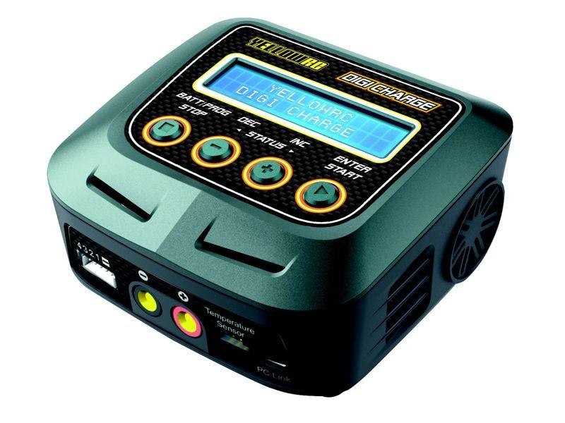 Digi Charge 60W Balancer Ladegerät 6A Lipo/NiMH 230V Traxxas