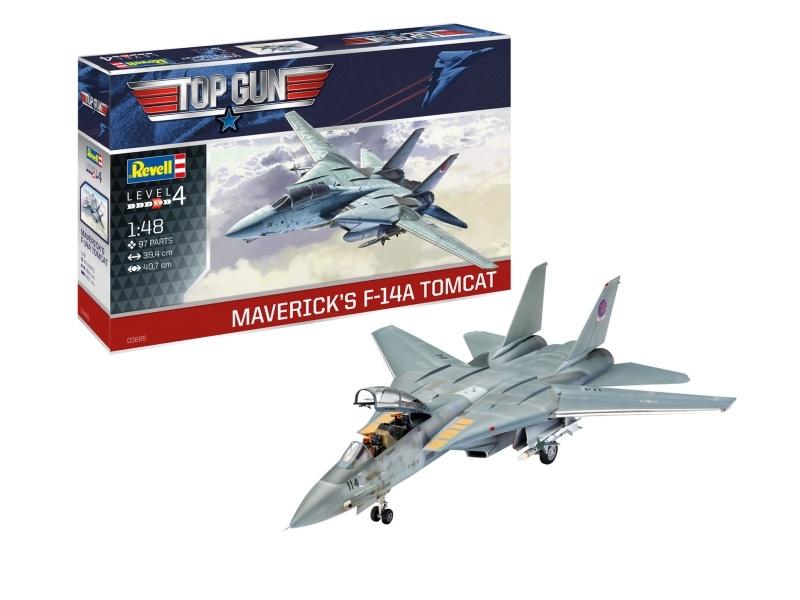 TOP GUN F-14A Tomcat 1:48