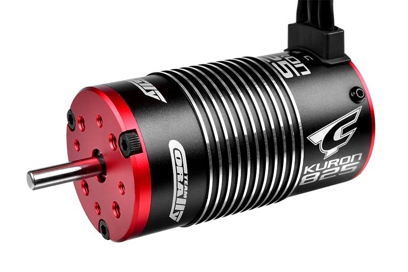 Elektro Brushless Motor Kuron 825 4-polig 2050KV 1:8