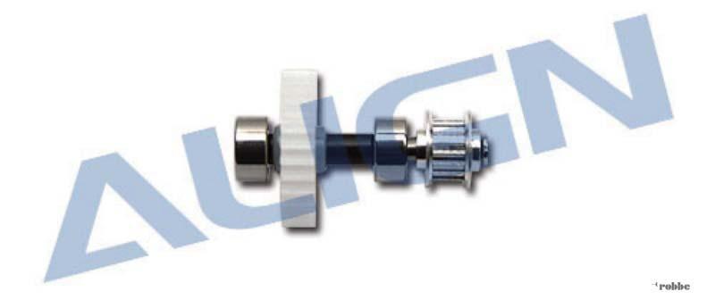 Vorderes Heckrotorgetriebe Metall