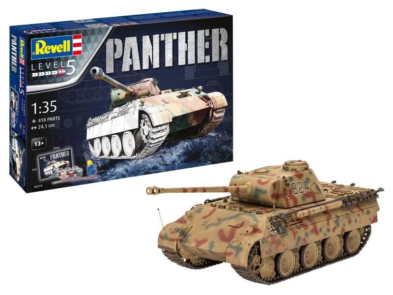 Geschenkset Panther Ausf. D Panzer 1:35 Modellbausatz