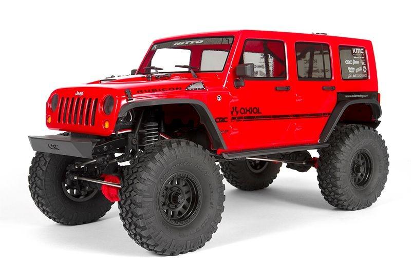 SCX10 II Jeep Wrangler Rubicon 4WD 1/10 Crawler 2,4GHz RTR