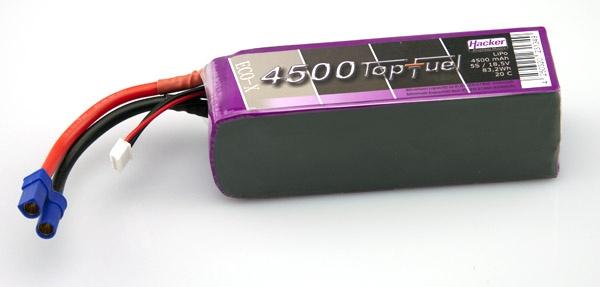 TopFuel LiPo 20C-ECO-X 4500mAh 6S