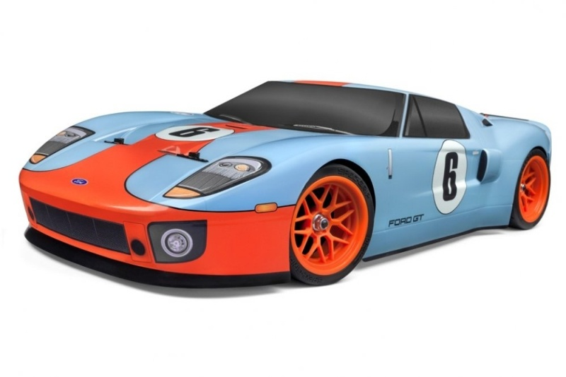 RS4 Sport 3 Flux Ford GT Heritage Edition 4WD 1:10 2,4G RTR