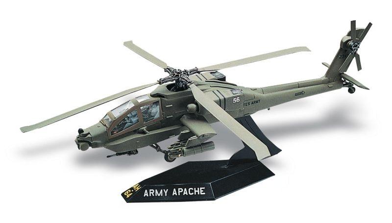 AH-64 Apache Helicopter Bausatz 1:72