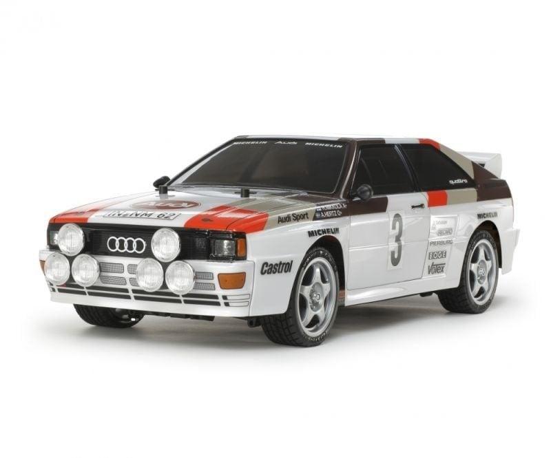 Audi Quattro A2 1/10 On-Road Fahrzeug 4WD TT-02 Bausatz