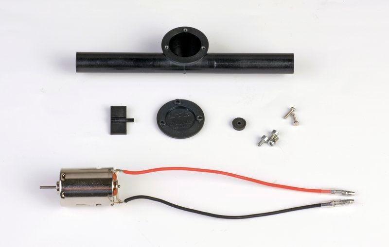 Querstrahlruder mit E-Motor 7,2 V