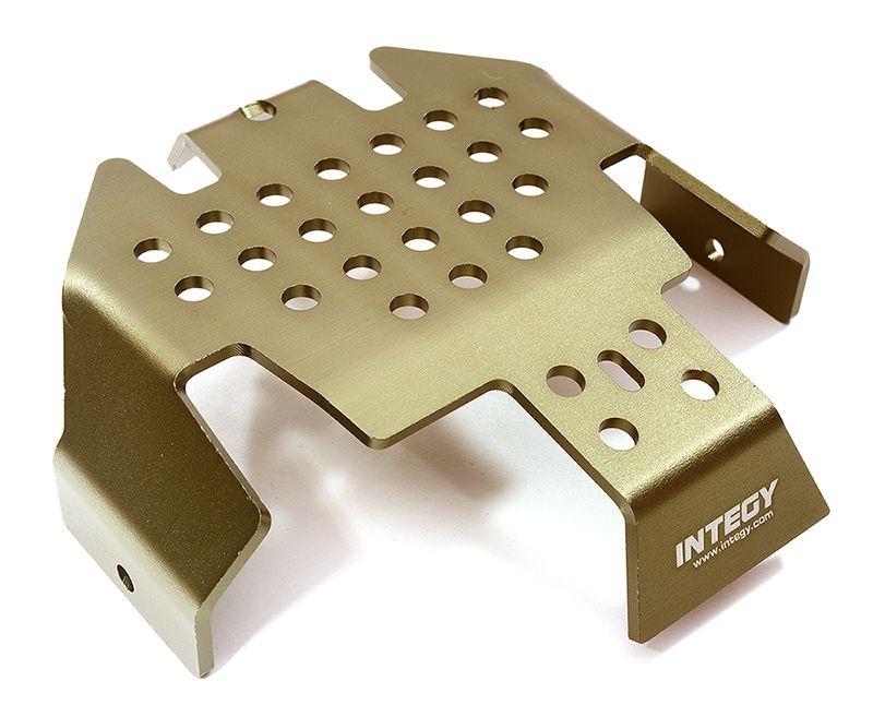 CNC Aluminium Center Skid Plate für TRX-4 und 1/10 Crawler