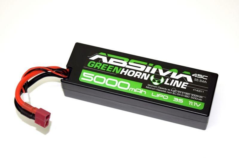 LiPo Stick Pack 11.1V-45C 5000 Hardcase (T-Plug)