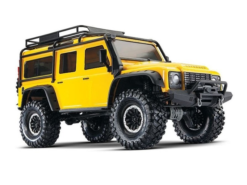 TRX-4 Scale Crawler Land Rover Defender 1:10 4WD RTR gelb