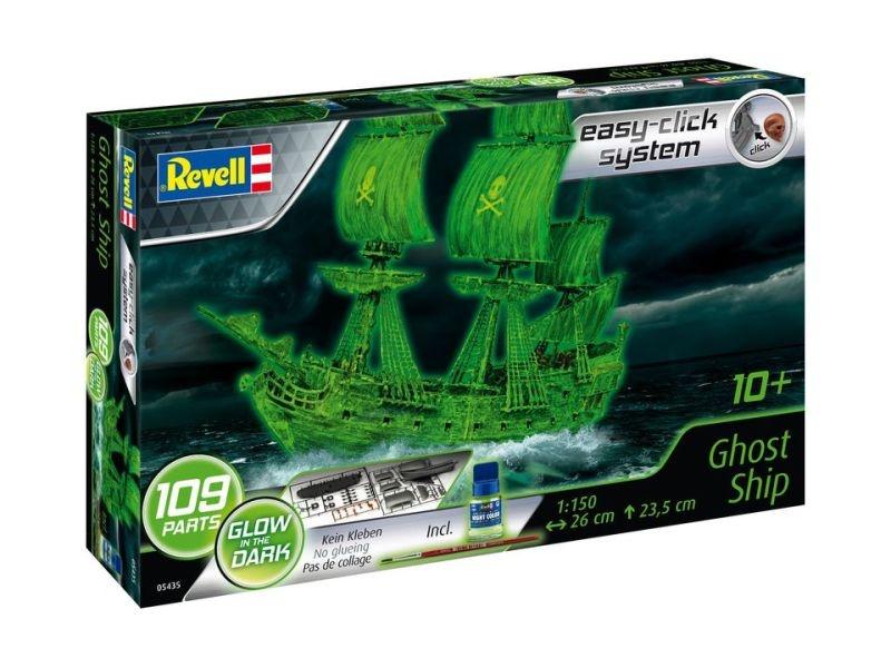 Ghost Ship Plastikbausatz mit Leuchtfarbe 1:150