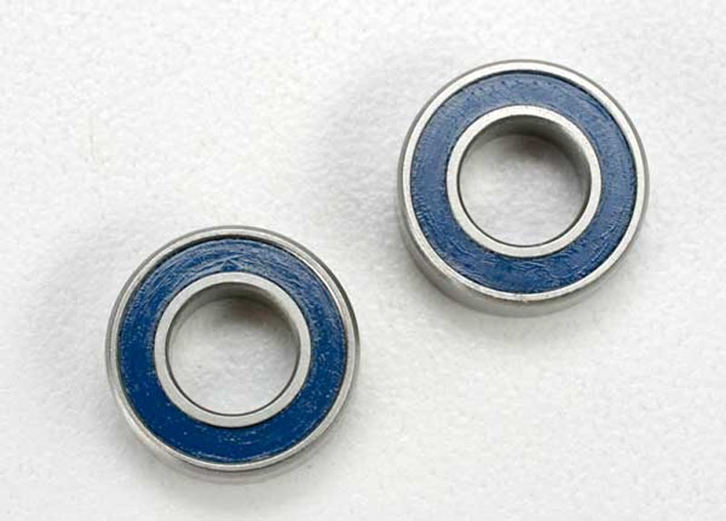 Kugellager mit blauer Dichtung 6x12x4mm (2)
