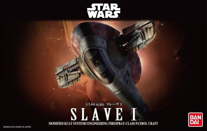 BANDAI Star Wars Slave I  1/144
