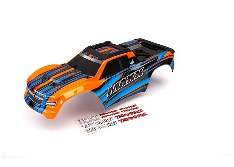 Karosserie orange lackiert mit Dekor für Maxx