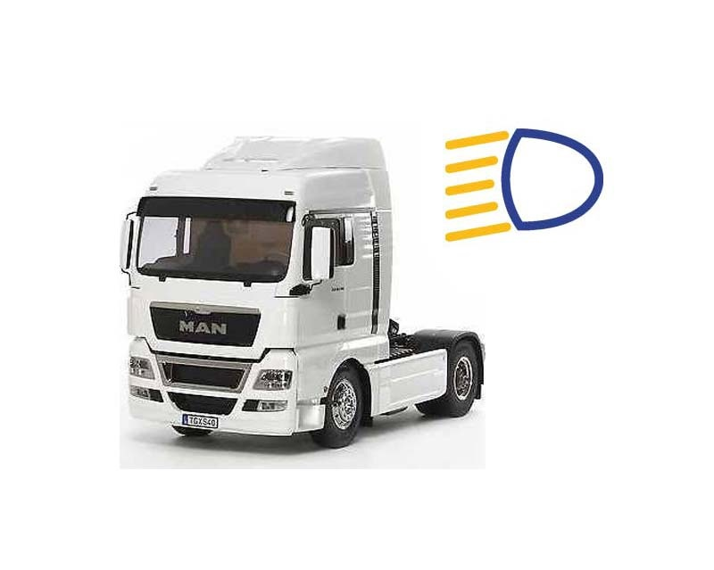 MAN TGX 18.540 4x2 XLX Facelift 2014 + LED-Lichtset