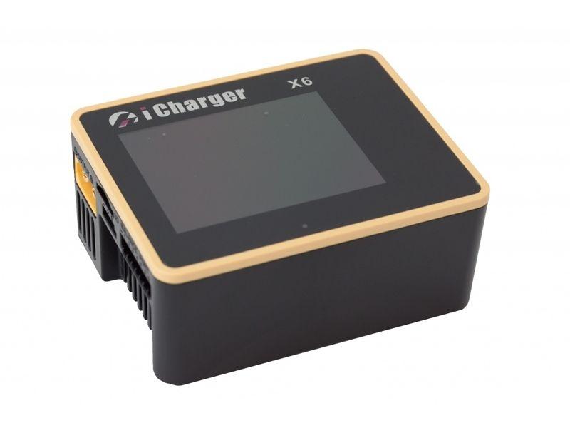iCharger X6 - bis 6S LiPo - 800W - bis 30A Ladestrom