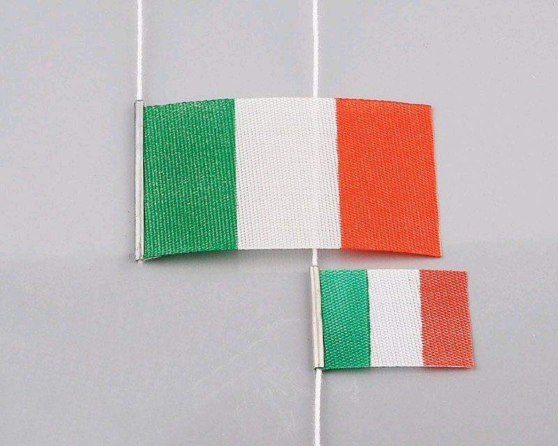 Flaggensatz Italien 25x40 mm/ 15x30 mm