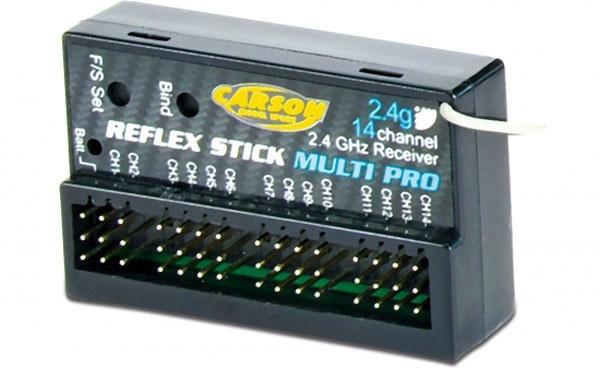 Reflex Stick Multi Pro Empfänger 14 Kanal 2,4 GHz