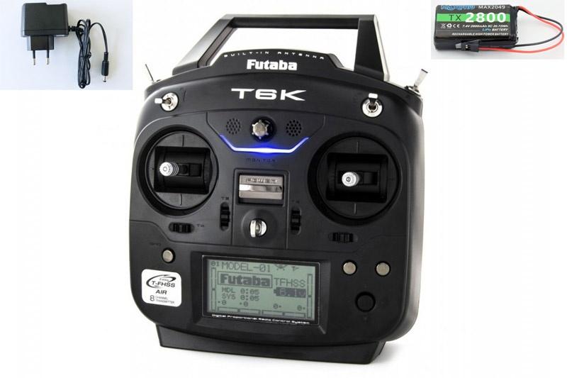 T6K V2.0 8-Kanal Fernsteuerung 2.4GHz T-FHSS +R3006SB - M1