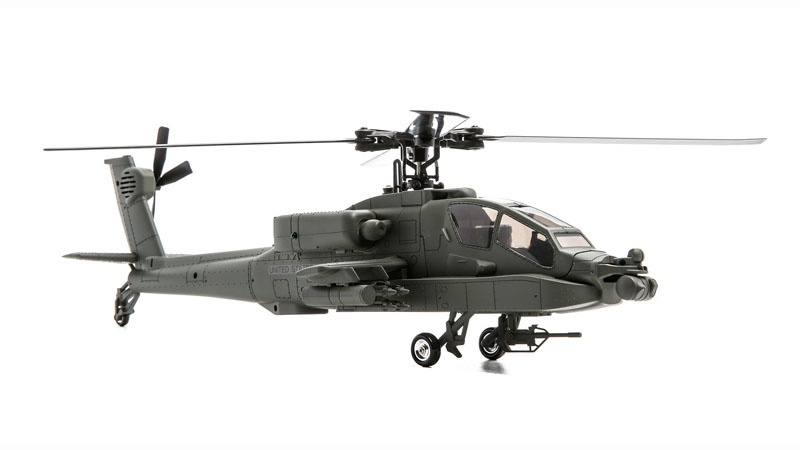 Micro AH-64 Apache Scale-Helicopter Brushless BNF