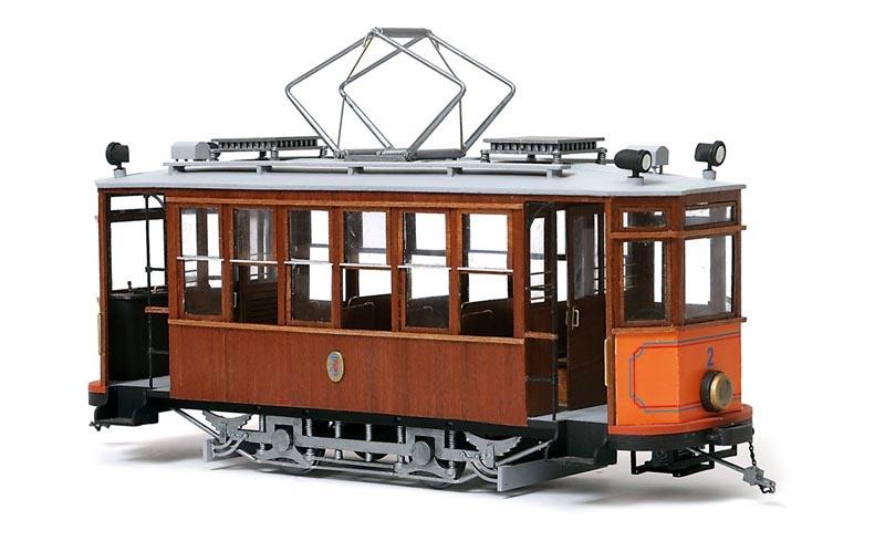 Soller Tram 1:24 Soller Straßenbahn Bausatz