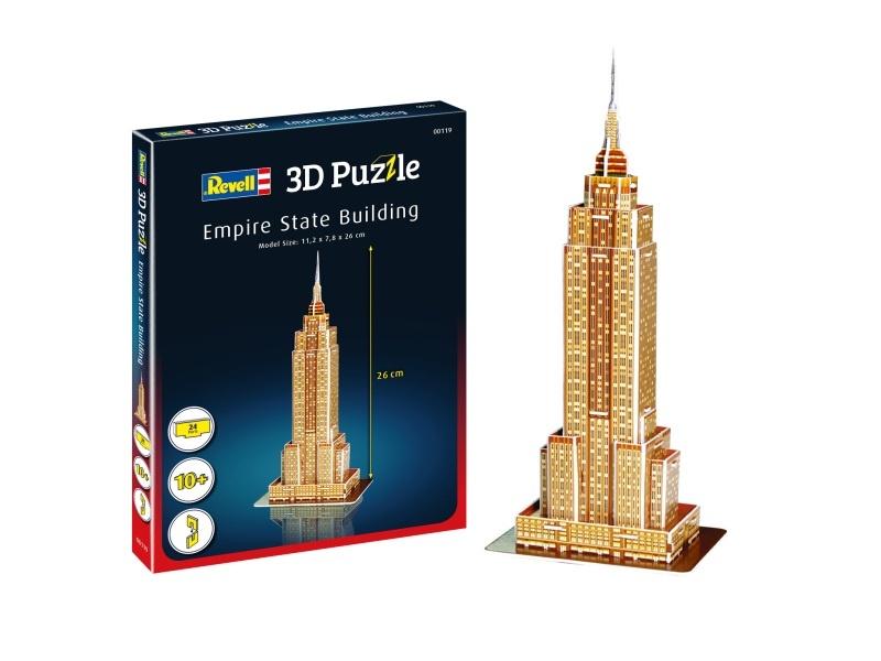 3D Puzzle Empire State Building 24 Teile