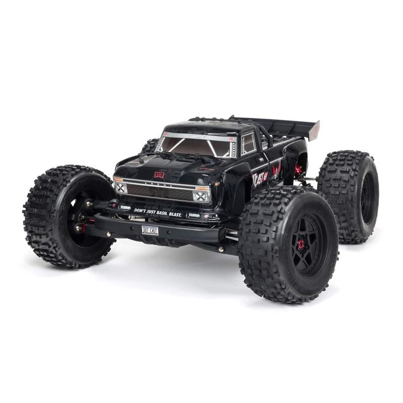 OUTCAST 6S 4WD BLX 1/8 EXB Stunt Truck RTR black mit DX3
