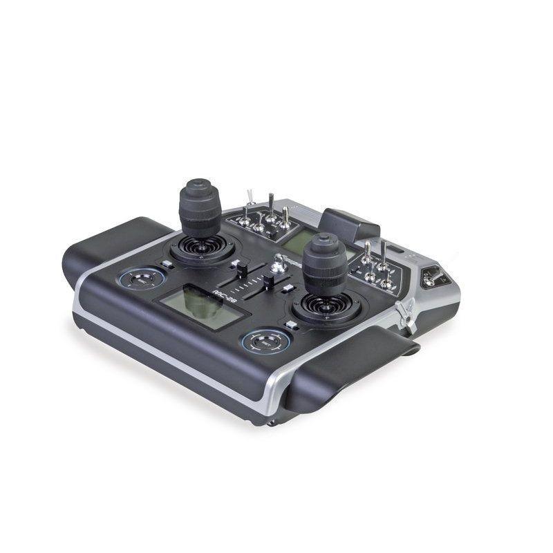 Pultsender MC-28 HoTT mit 4D Steuerknüppeln Einzelsender
