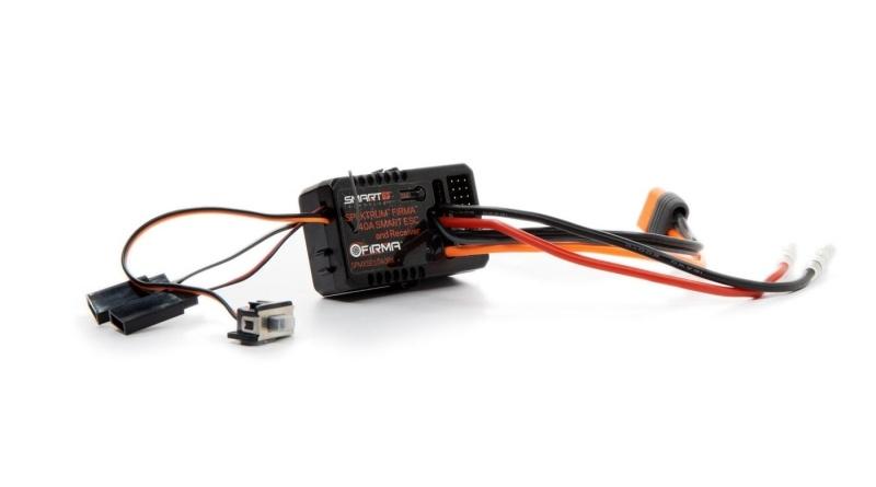 Firma 40 Amp Brushed Smart 2-in-1 Regler und Empfänger