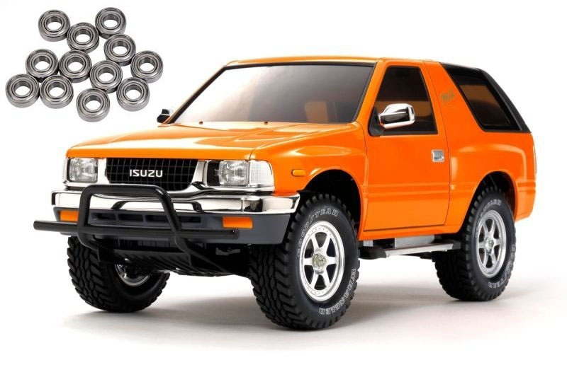 Isuzu MU Type X 1/10 Off-Road SUV 4WD CC-01 Kit + Kugellager