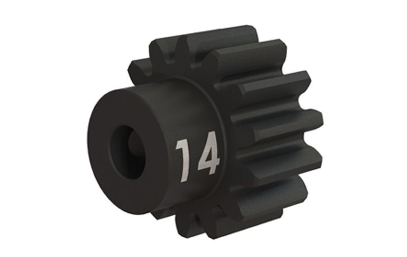 Stahl (gehärtet) Motorritzel 14T - 32dp (3,17mm)