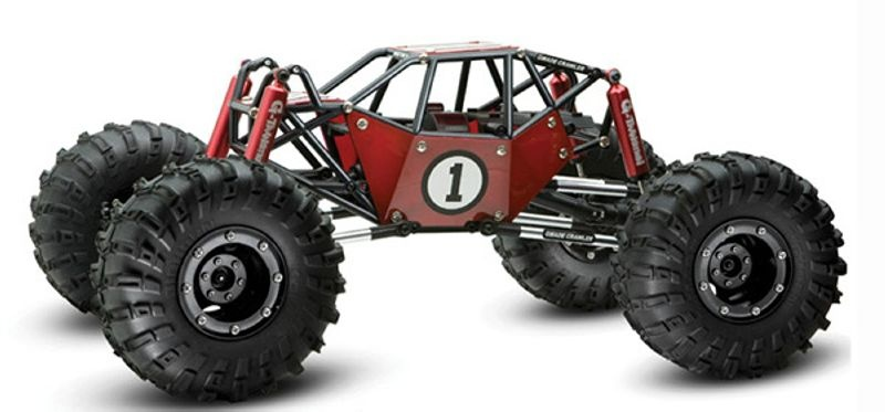 R1 Rock Buggy 4WD 1/10 Crawler Brushed 2,4GHz RTR