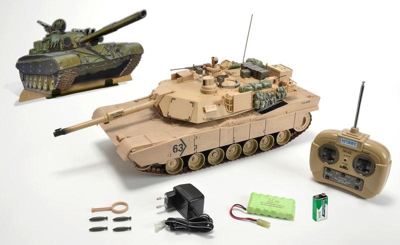 1:16 M1 A2 Abrams, 27 MHz, 100% RTR