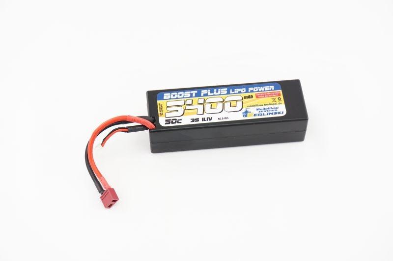 BOOST PLUS Lipo Power Akku 11,1V 50C 5400mAh 3S T-Plug