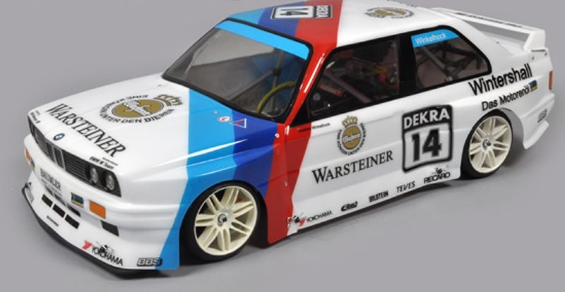 BMW M3 E30 2WD Challenge Chassis 1/5 Verbrenner 2,4GHz RTR