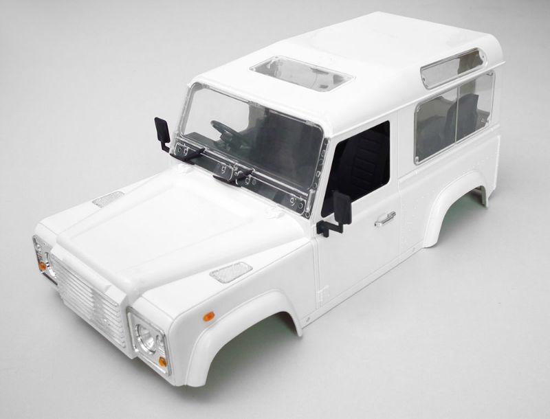 Hartkunststoff-Karosserie Land Rover Defender D90 1:10