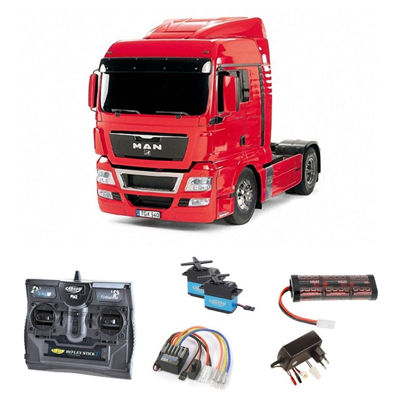 MAN TGX 18.540 4x2 XLX - Red Edition Komplettset