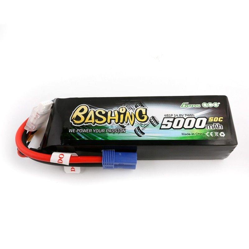 Bashing LiPo Akku 5000mAh 14,8V 50C 4S1P Arrma EC5