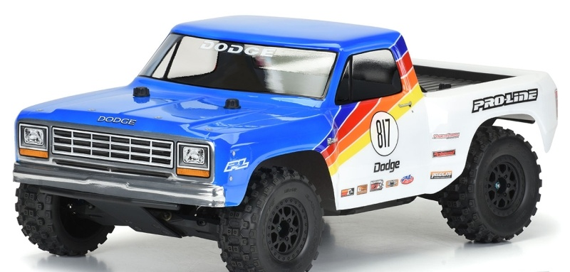 1984 Dodge Ram 1500 Race Truck Karosserie (klar) Slash 2WD