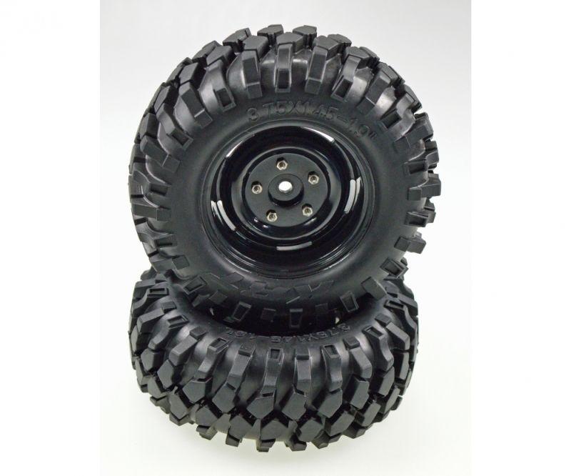 Reifenset Crawler scale 96mm 1:10 12mm Mitnehmer