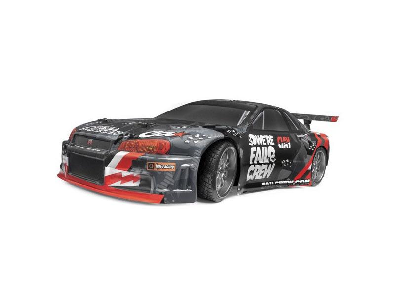 E10 Drift Fail Crew Nissan Skyline R34 GT-R 1:10 RTR