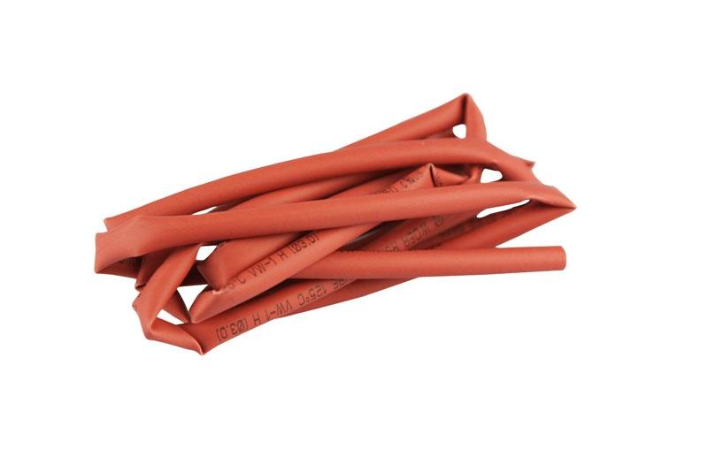 Schrumpfschlauch  Ø3mm x 1m  rot