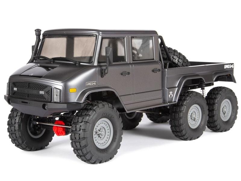 SCX10 II UMG10 6x6 1/10 Rock Crawler RTR
