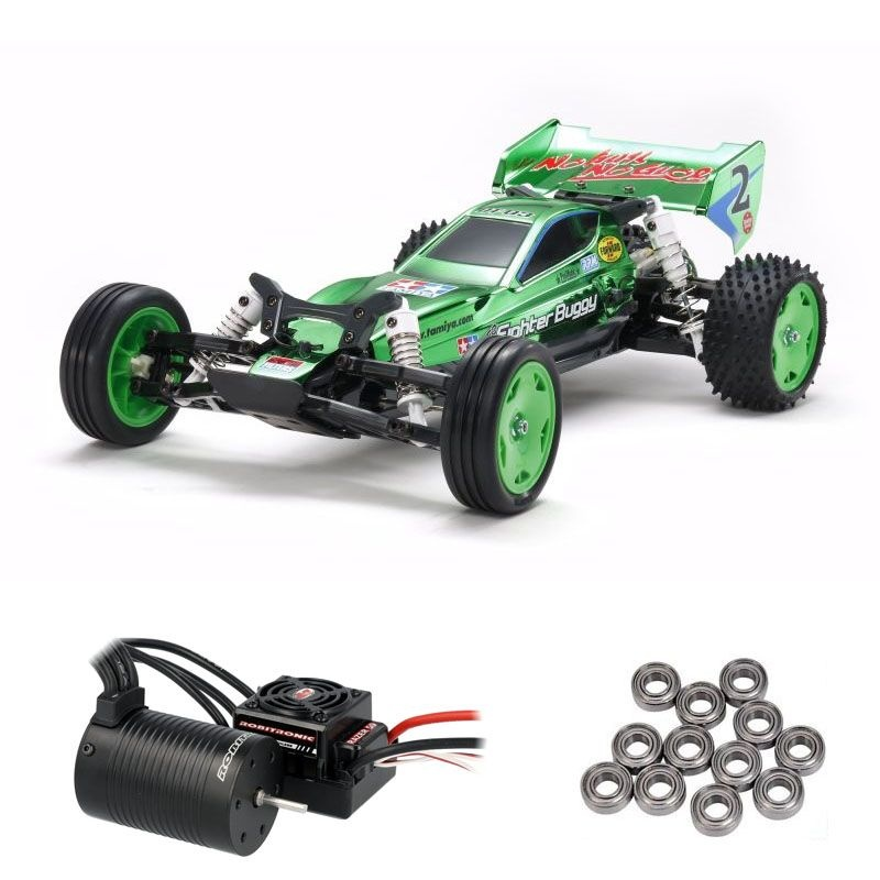 Neo Fighter Green Metallic 2WD Buggy DT-03 Brushless Edition